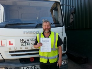 Richard Hawthone C+E Pass
