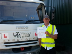 Rory Norton C+E Pass