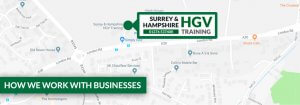 Train Your Drivers with Surrey & Hampshire HGV Training